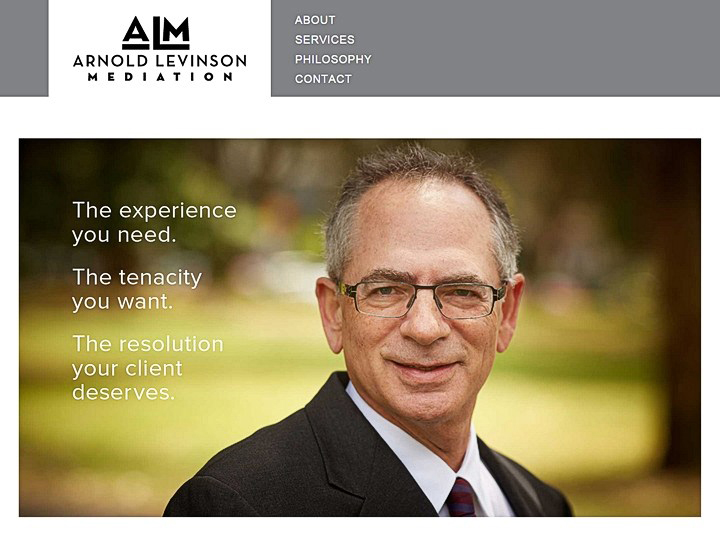 Arnold Levinson Mediation, development