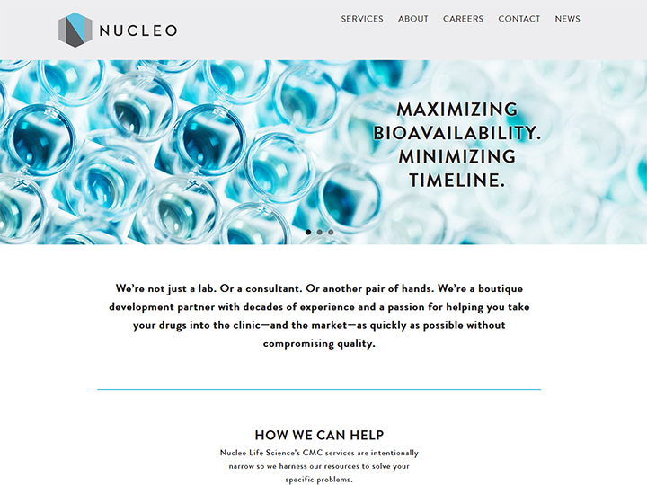 Nucleo Life Sciences, development