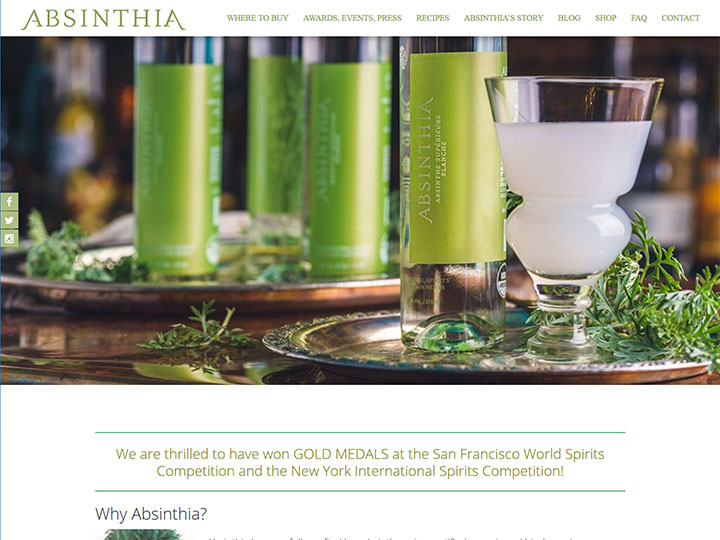 Absinthia, design and development
